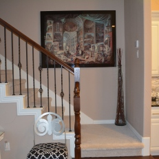 Stairs to Game Room